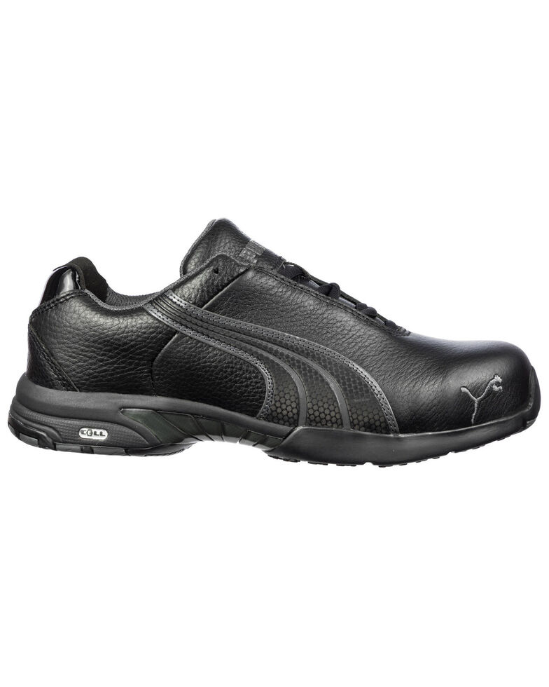 Puma Women's Velocity Work Shoes - Steel Toe, Black, hi-res