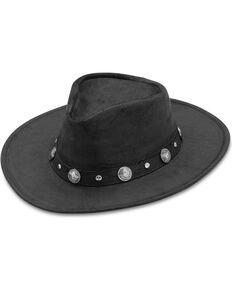 Minnetonka Buffalo Nickel Band Outback Hat, Black, hi-res