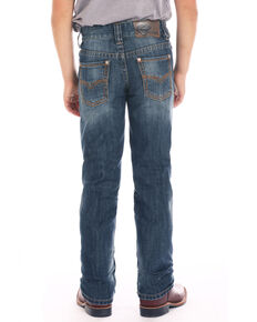 Rock & Roll Denim Boys' Double V Stitched Revolver Jeans , Blue, hi-res