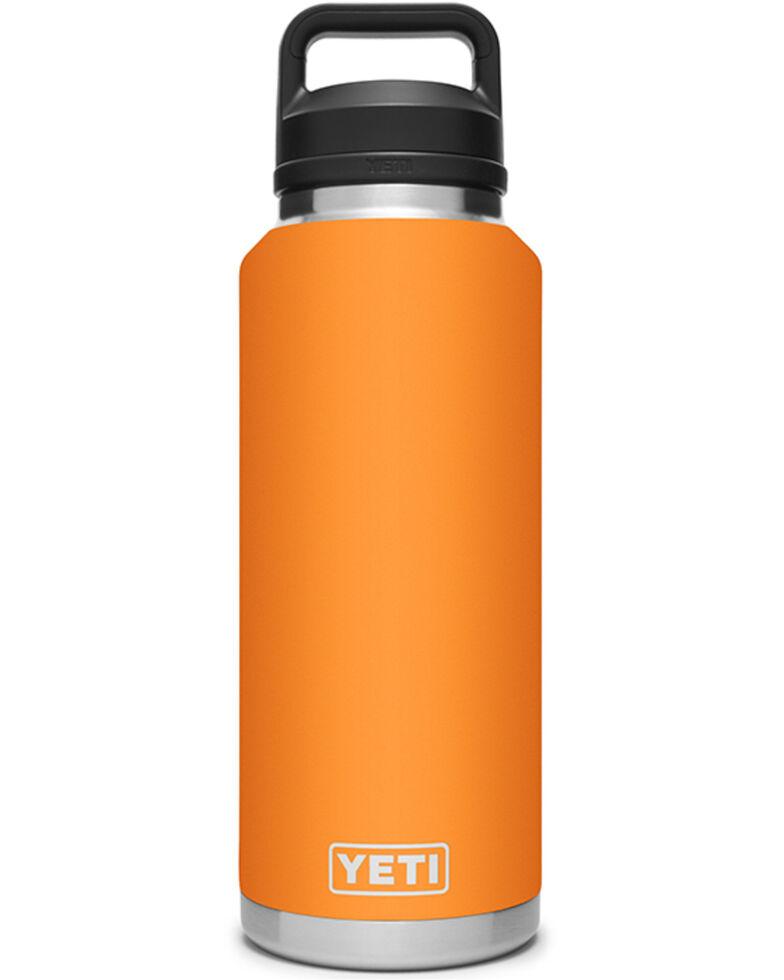 Yeti Rambler 46oz Chug Cap Bottle, Orange, hi-res