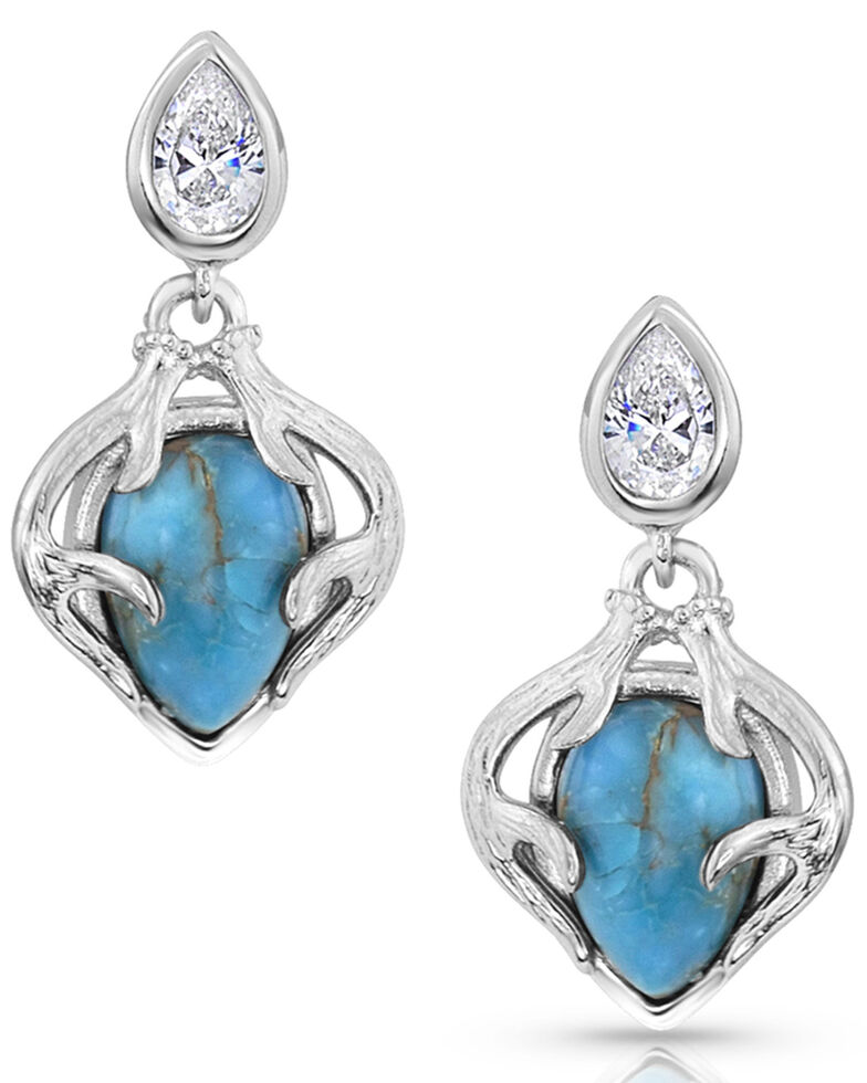 Montana Silversmiths Women's Timeless Treasure Earrings, Silver, hi-res