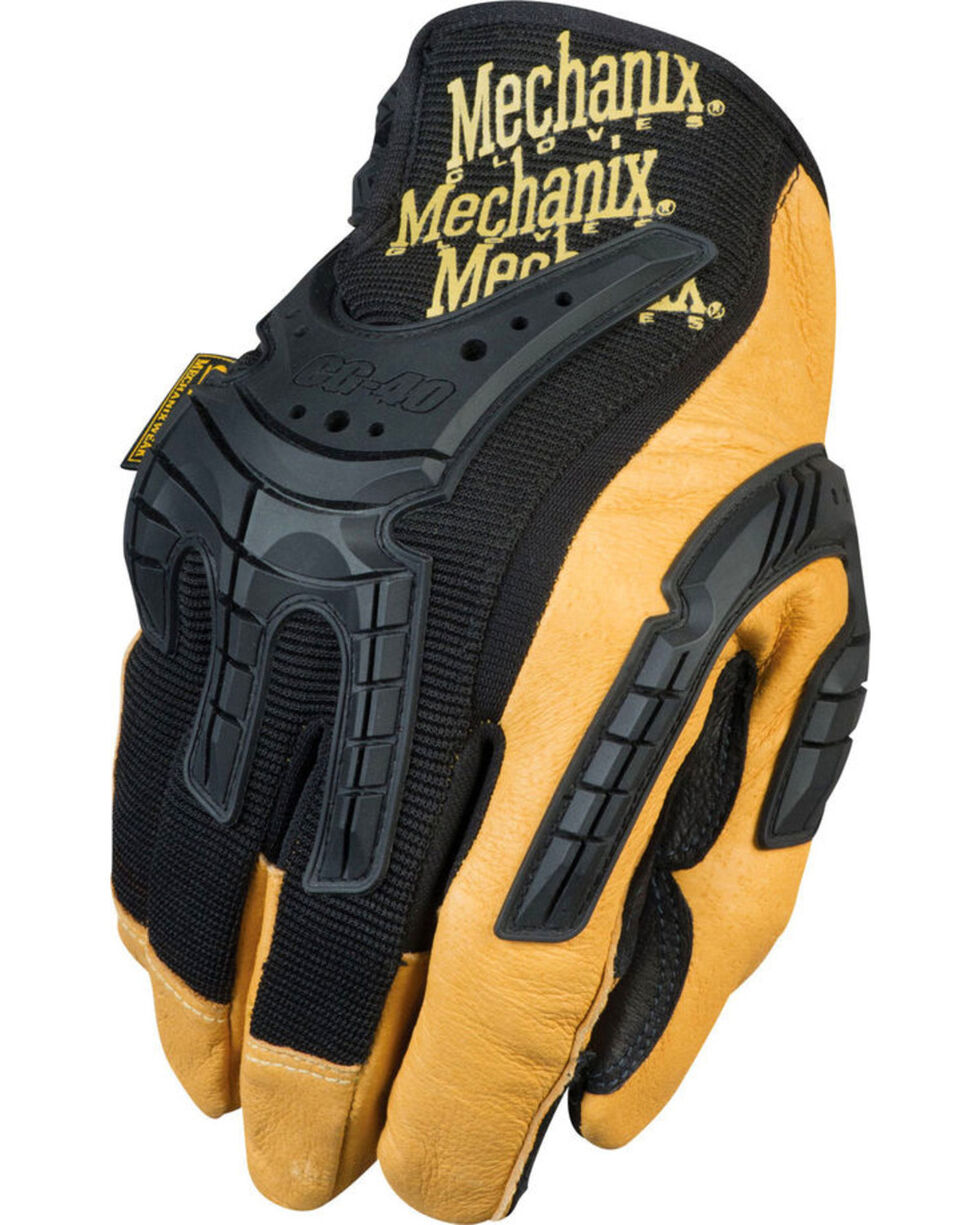 Mechanix Wear CG Heavy Duty Leather Work Gloves , Multi, hi-res