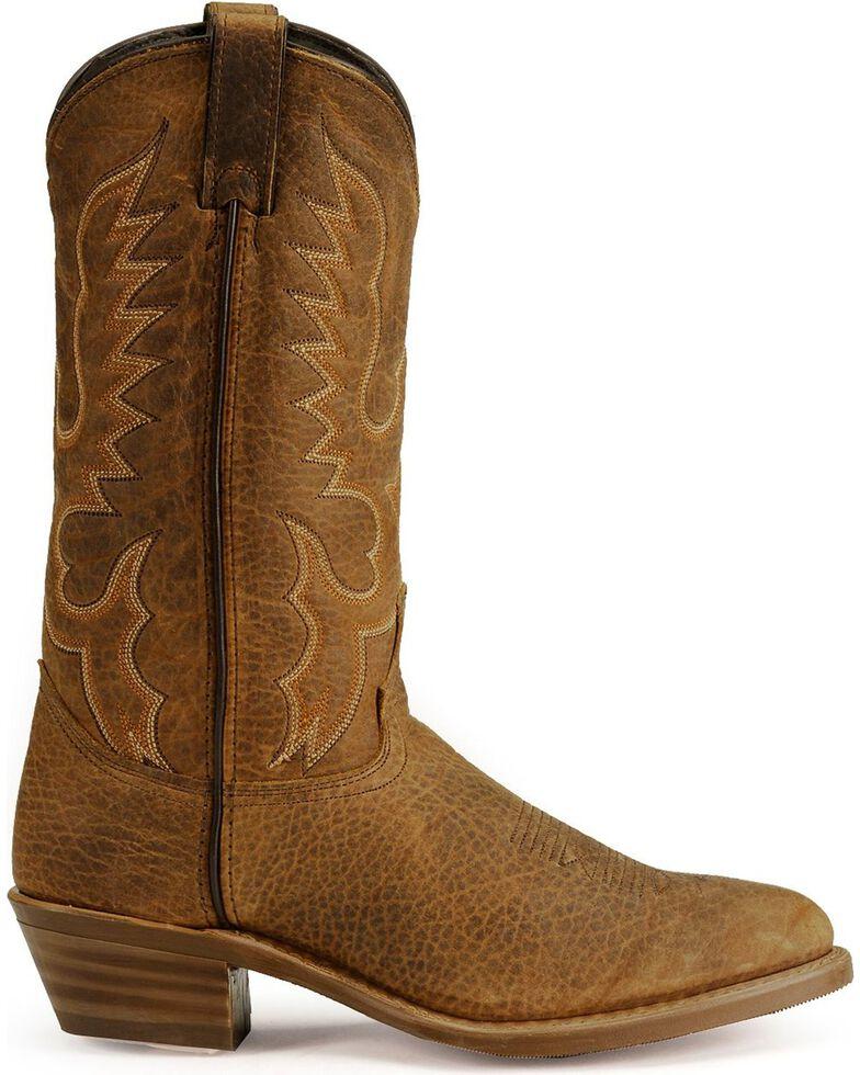 "Abilene Men's 12"" Bison Western Boots, Tan, hi-res"