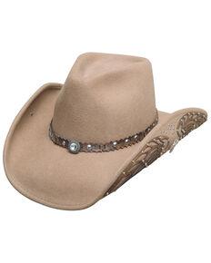 Bullhide Women's Nobody But You Wool Hat, Sand, hi-res