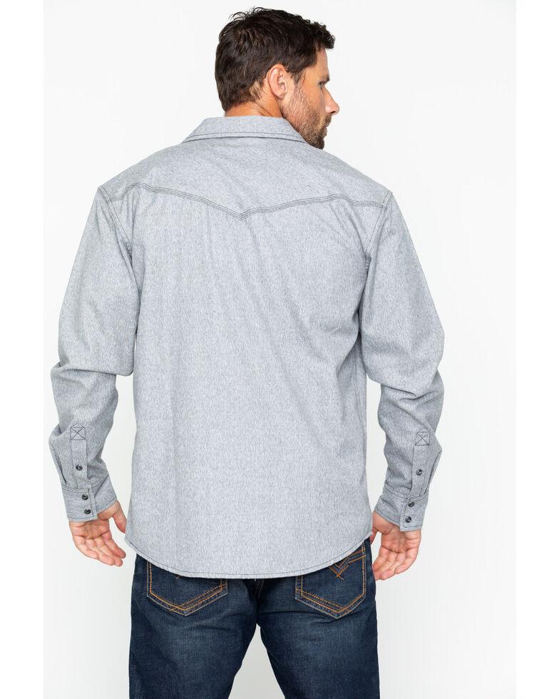 Moonshine Spirit Men's Siberia Solid Flannel Shirt Jacket, Grey, hi-res