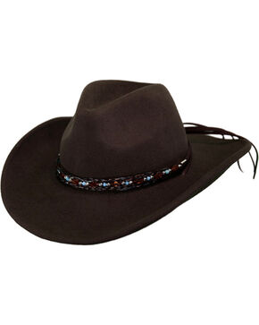 Outback Unisex Tassy Crusher Aubrey Hat, Brown, hi-res