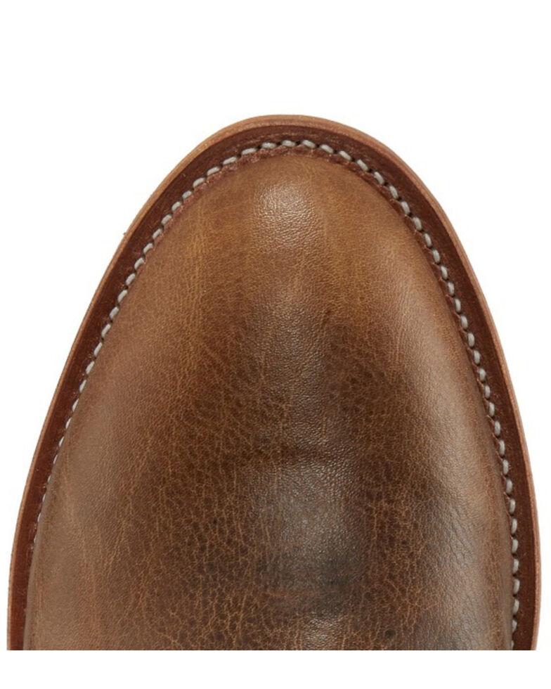 Justin Men's Brock Desert Western Boots - Round Toe, Lt Brown, hi-res