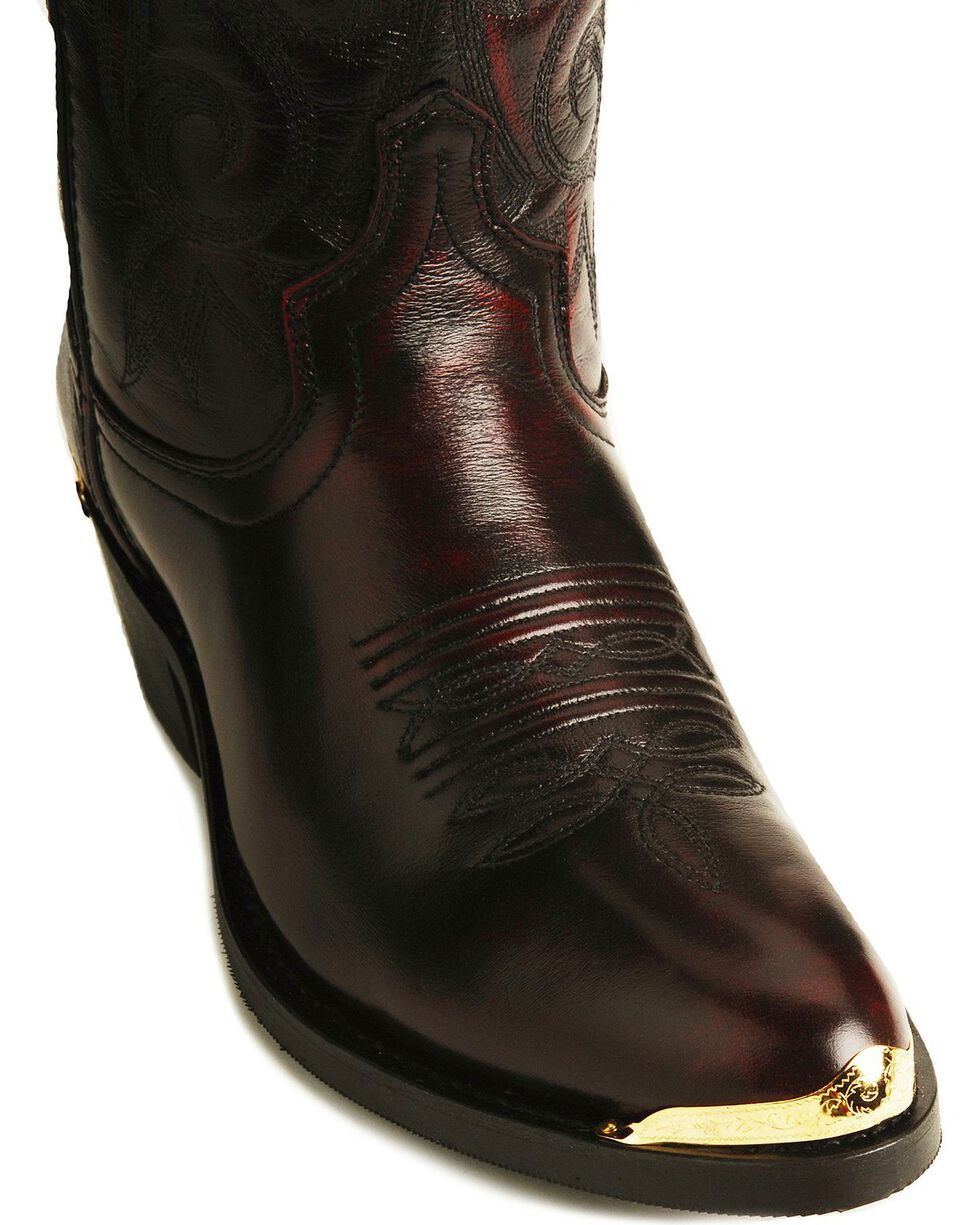Laredo Men's McComb Western Boots, Burnt Apple, hi-res