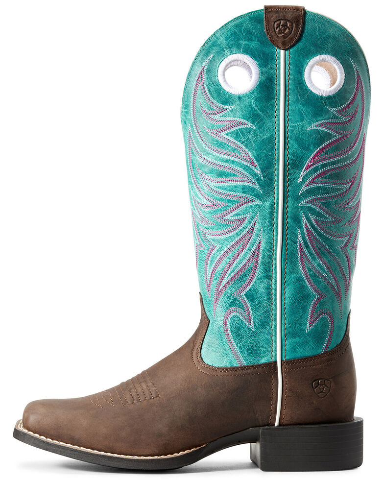 4778de288a0 Ariat Women's Round Up Ryder Western Boots - Wide Square Toe