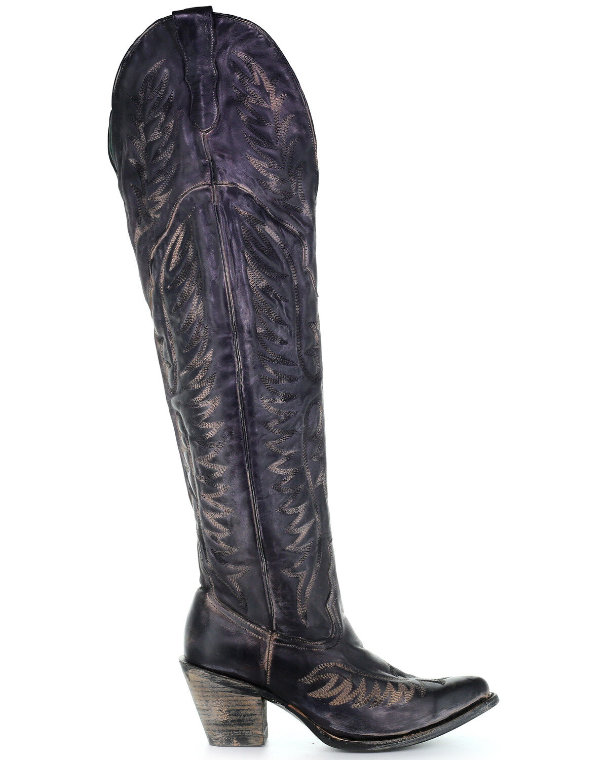 Corral Women's Black Embroidery Tall