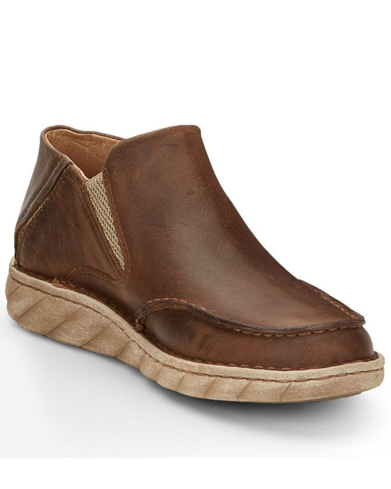 Tony Lama Men's Lorenzo Casual Shoes - Moc Toe, Tan, hi-res