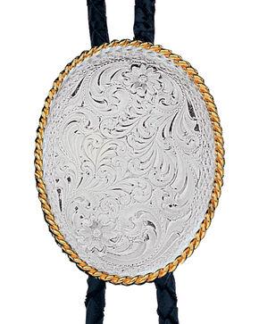 Montana Silversmiths Silver Oval Bolo-Tie, Multi, hi-res
