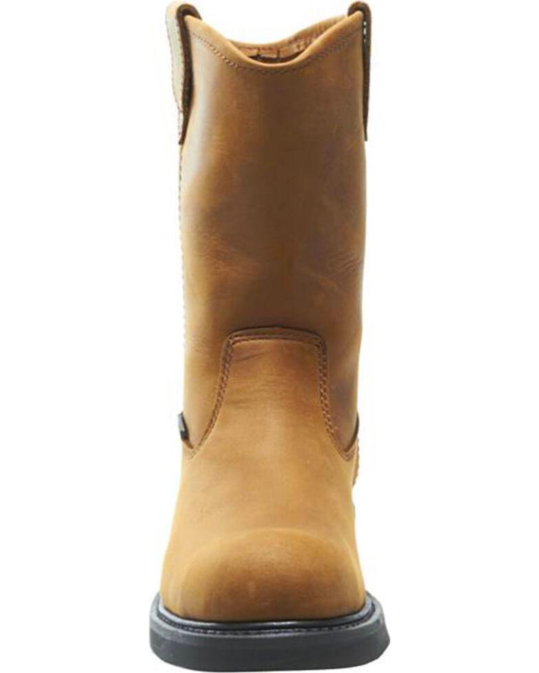 da9f773fb6a Wolverine Men's Ingham DuraShocks Steel Toe Wellington Boots