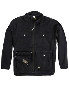 Berne Men's Lightweight Bravo One Zip Front Work Jacket , Black, hi-res
