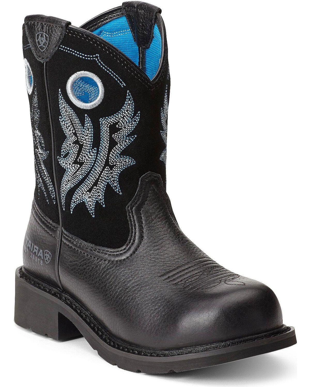 Watch - Womens Ariat steel toe boots video