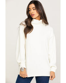Rag Poets Women's Fort Greene Sweater, Ivory, hi-res