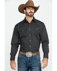 Ely Cattleman Men's Multi Check Plaid Long Sleeve Western Shirt , Multi, hi-res
