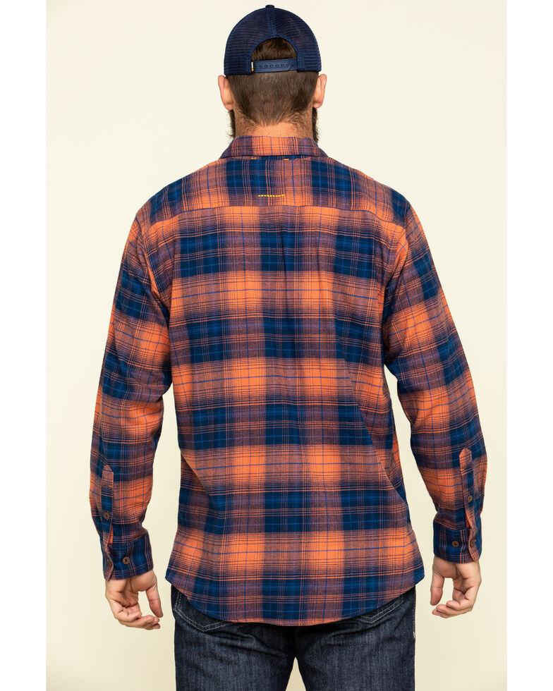 Ariat Men's San Juan Rebar Flannel Durastretch Long Sleeve Work Shirt - Tall, Multi, hi-res