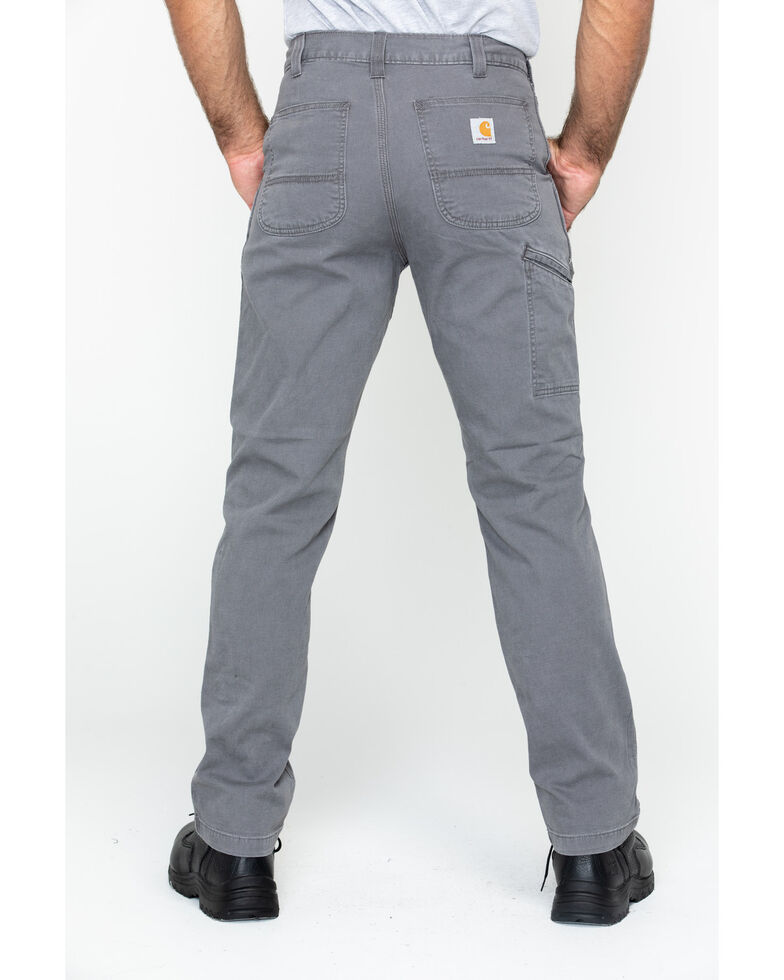 Carhartt Workwear Men's Rugged Flex Rigby Dungaree, Grey, hi-res