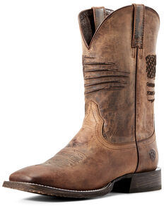a7d2ea920ea Men's Square Toe Boots - Boot Barn