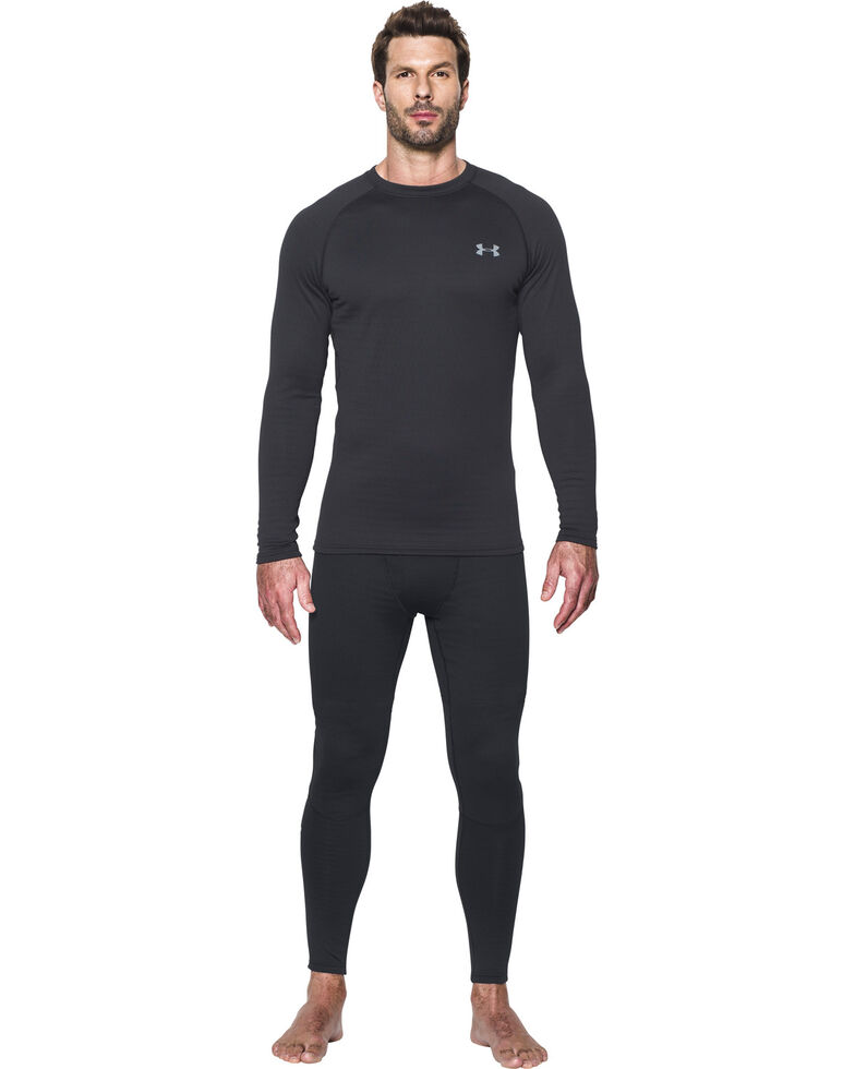 Under Armour Men's UA Base 4.0 Leggings , Black, hi-res