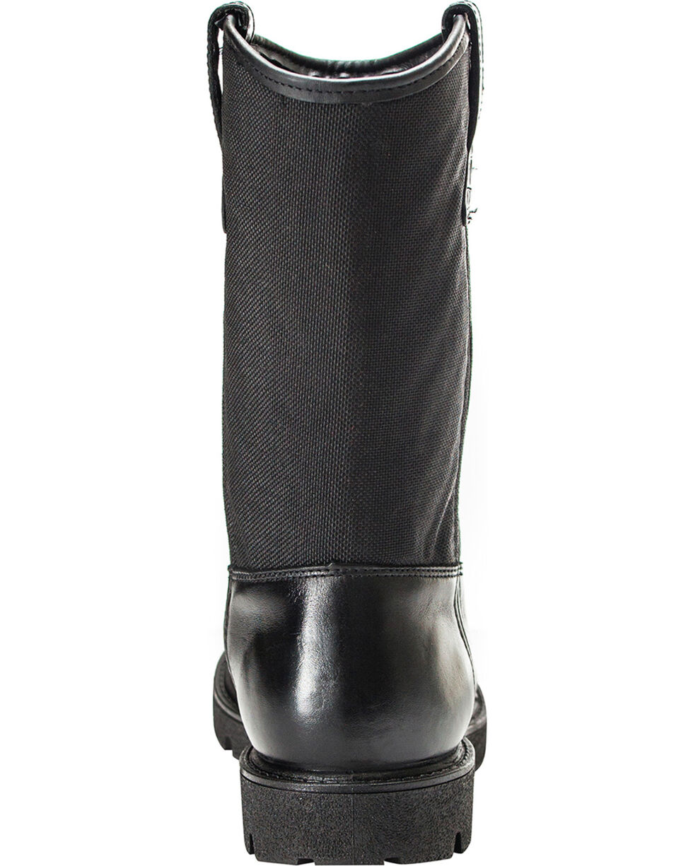 Rocky Men's Wellington Duty Boots, Black, hi-res
