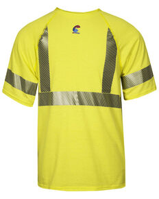 National Safety Apparel Men's Hi-Vis FR Control 2.0 Type R Class 2 Base Layer Shirt - Big & Tall, Bright Yellow, hi-res