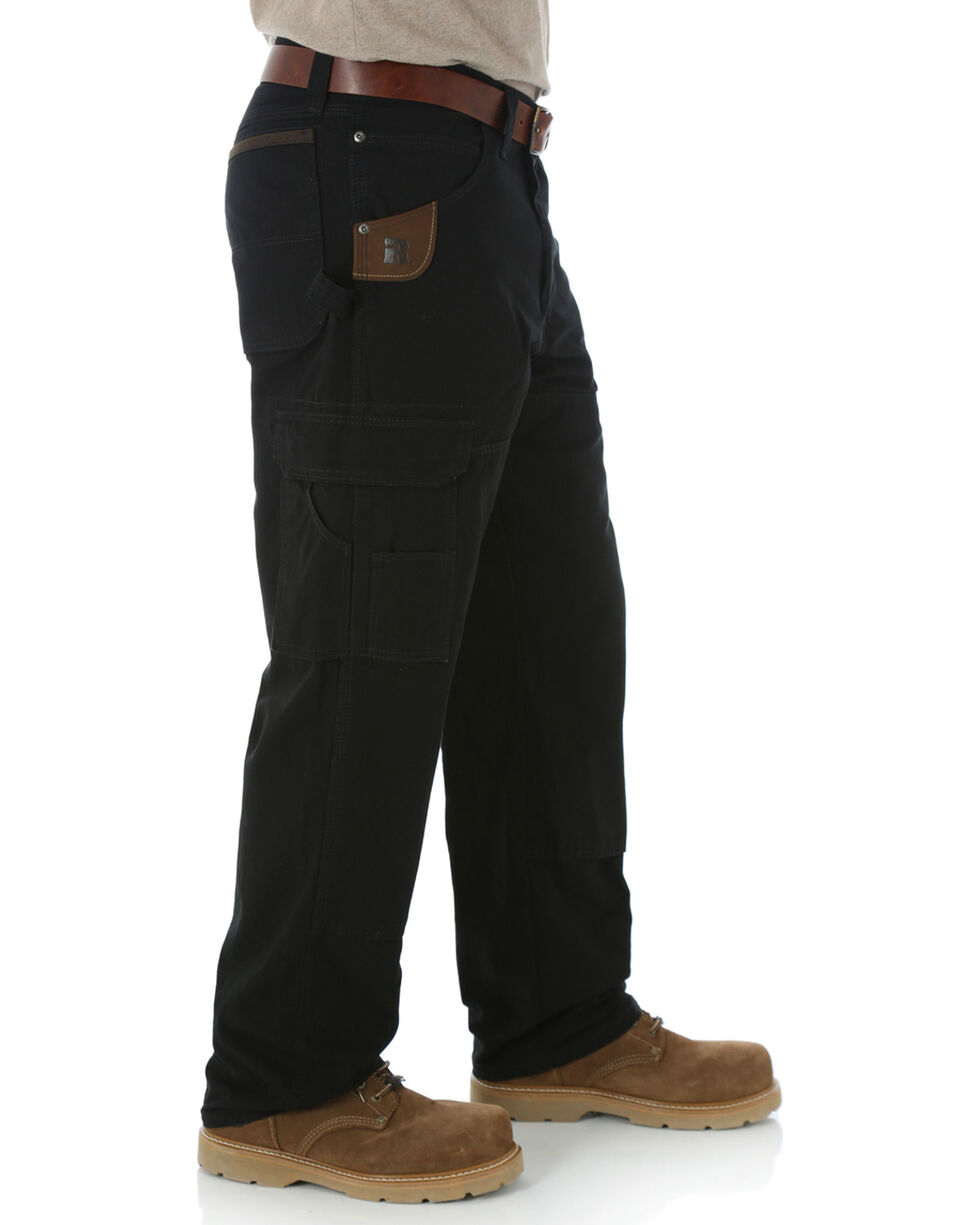 Riggs Workwear Men's Ranger Pants, Black, hi-res