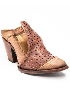 Corral Women's Rachelle Fashion Booties - Round Toe, Honey, hi-res