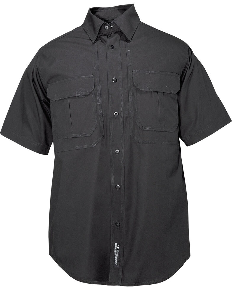 5.11 Tactical Shirt SS - Cotton 3XL, Black, hi-res
