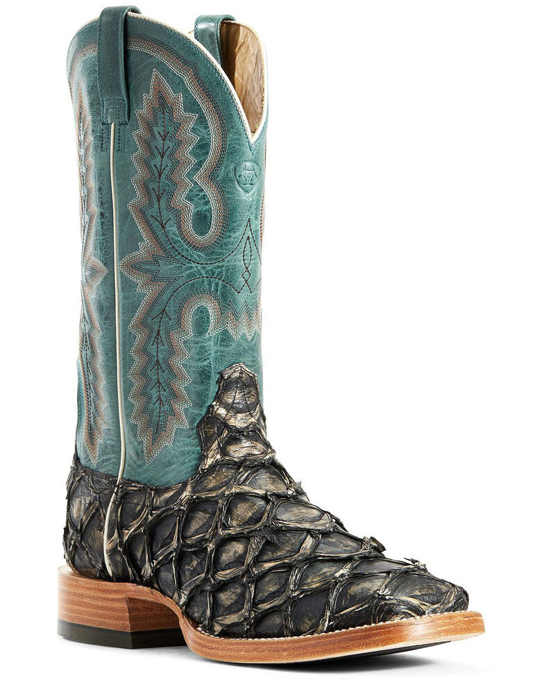 Ariat Men's Deep Water Big Bass Western Boots - Wide Square Toe, , hi-res