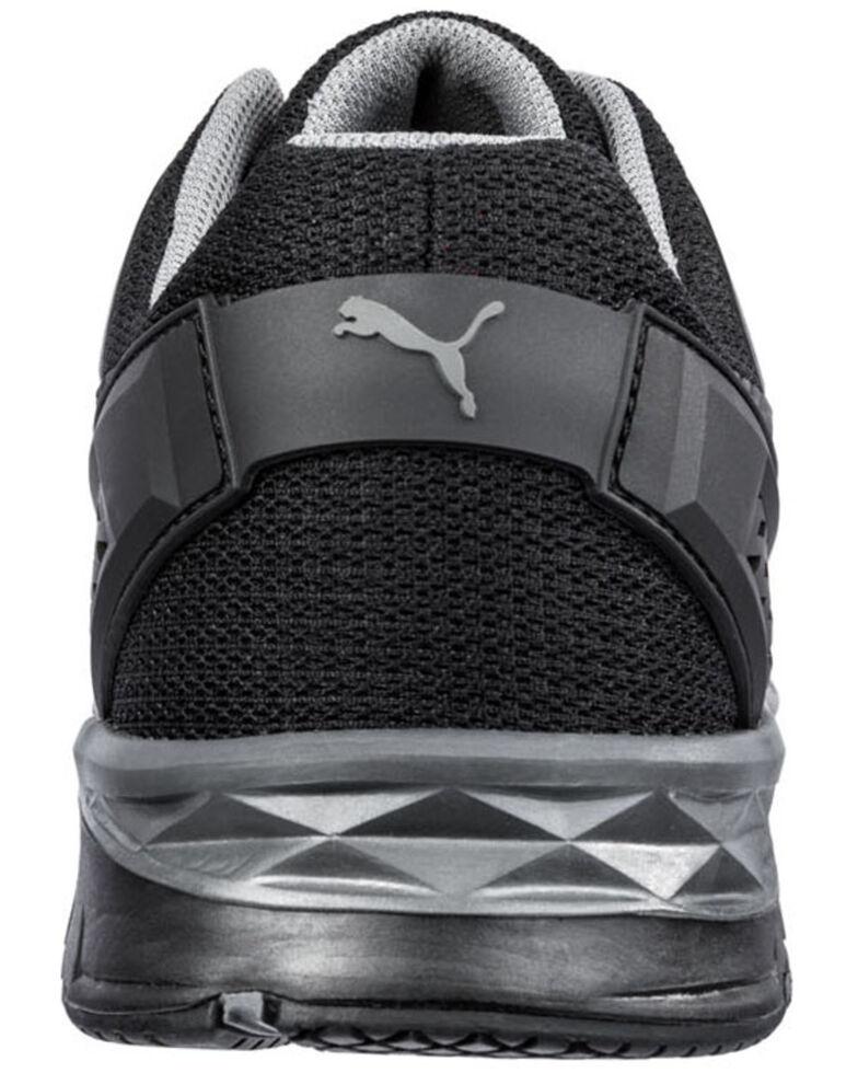 Puma Men's Fuse Motion Work Shoes - Composite Toe, Black, hi-res