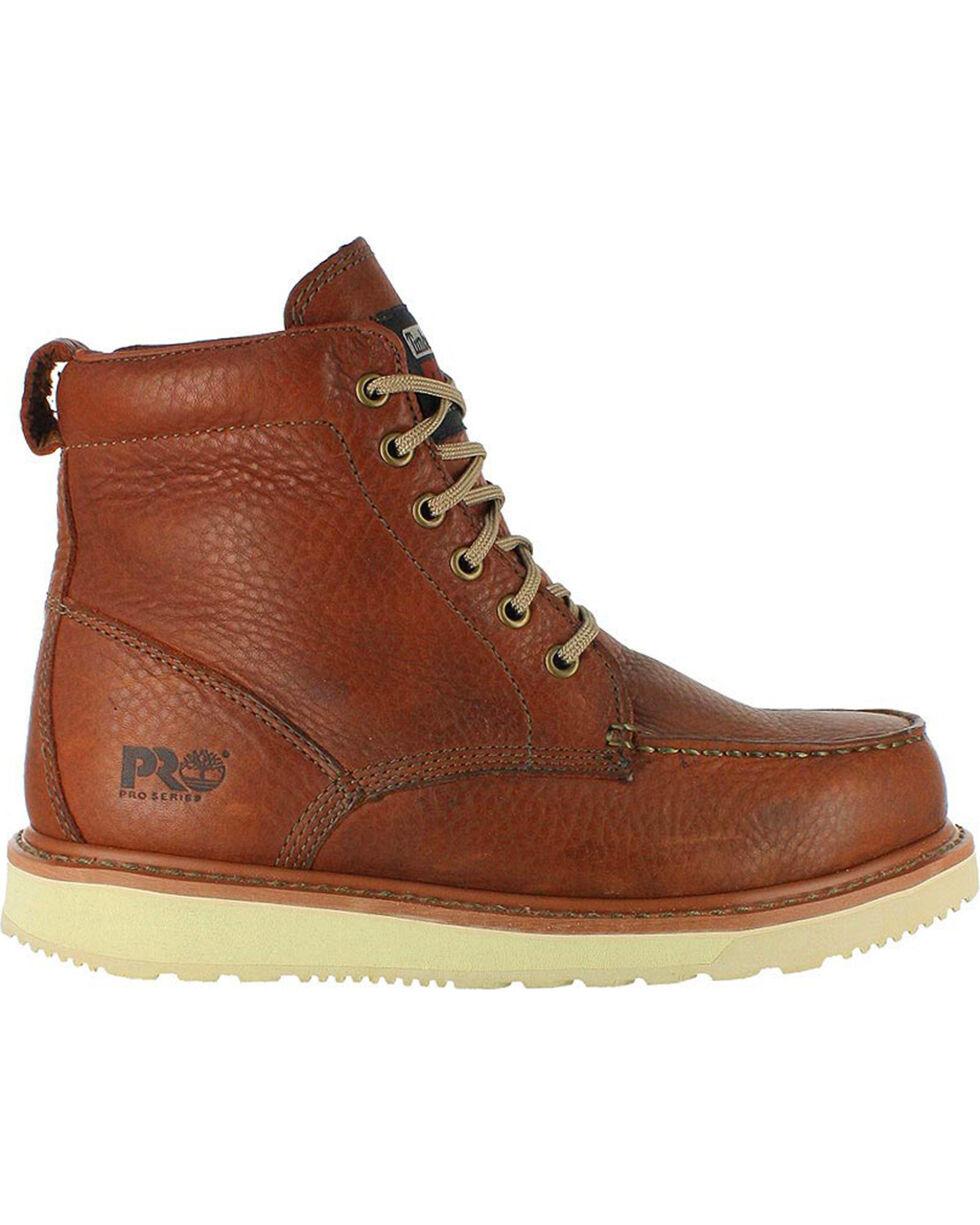 "Timberland Pro Men's 6"" Work Boots, Brown, hi-res"