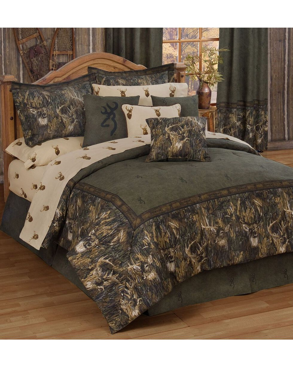 Browning Whitetails King Comforter Set, Multi, hi-res