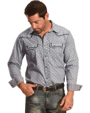 Cody James® Men's Las Cruces Long Sleeve Shirt, Grey, hi-res