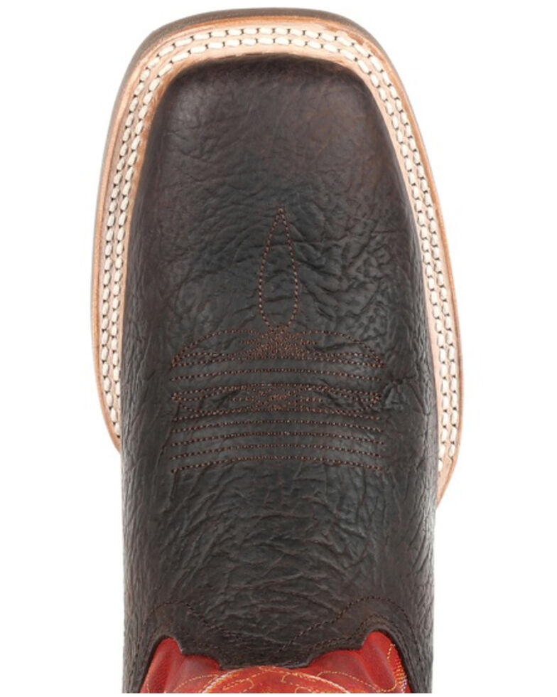 Durango Men's Rebel Pro Crimson Western Boots - Square Toe, Chestnut, hi-res