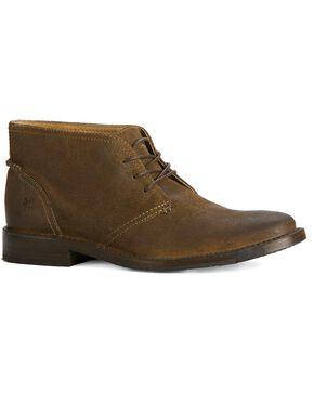 Frye Men's Oliver Chukka Shoes, Fatigue, hi-res