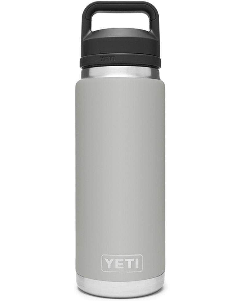 Yeti Rambler 26oz Granite Grey Chug Cap Bottle, Grey, hi-res