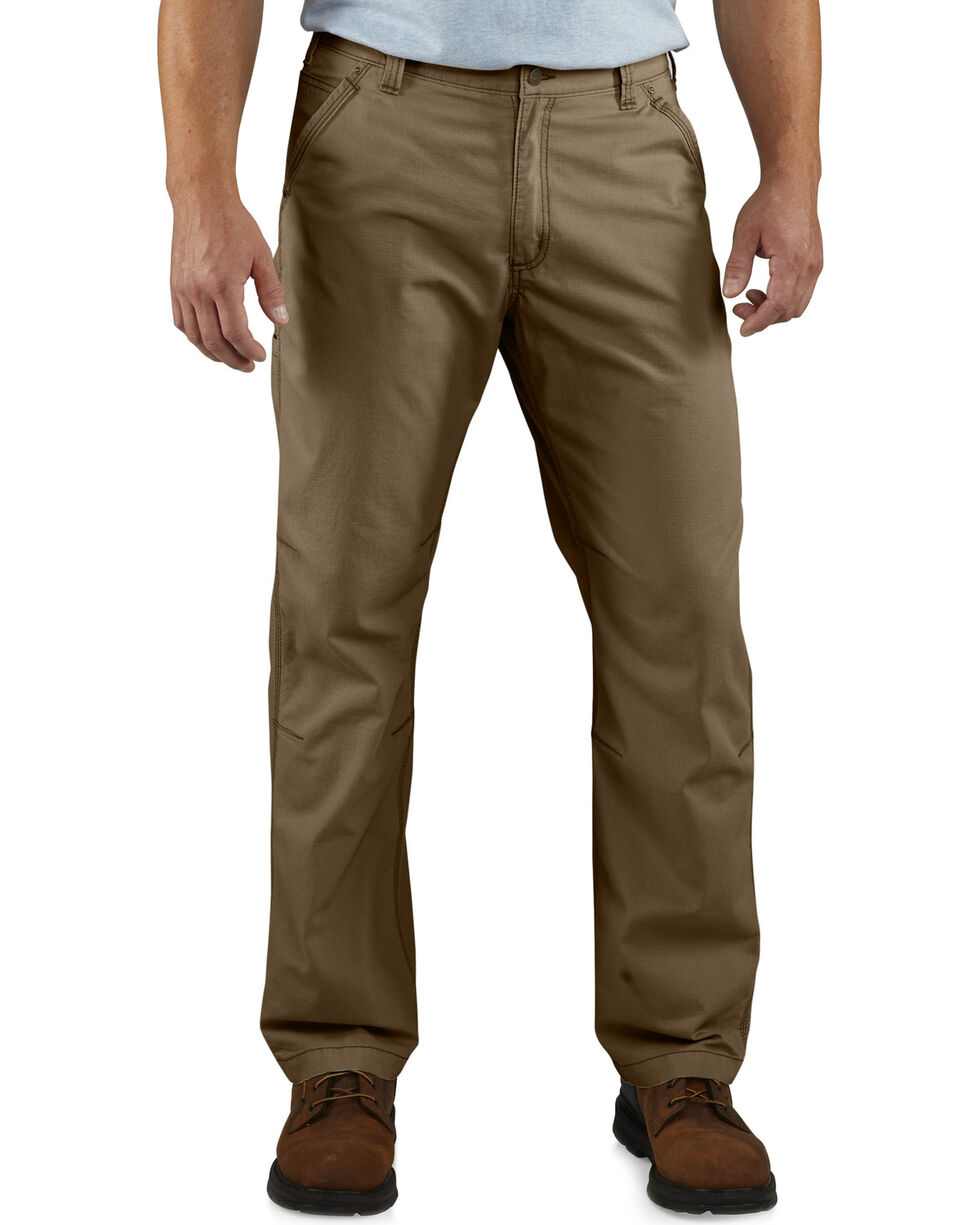 Carhartt Men's Tacoma Ripstop Pants, Brown, hi-res