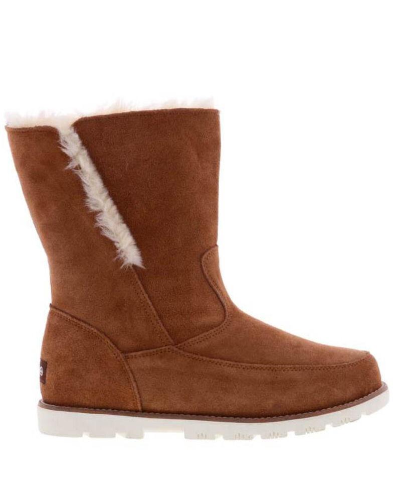 Lamo Footwear Women's Chestnut Brighton Boots - Moc Toe, Chestnut, hi-res
