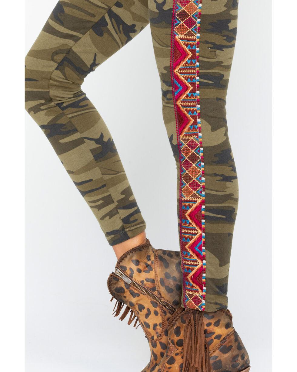 Johnny Was Women's Marjan Legging Pants , Camouflage, hi-res