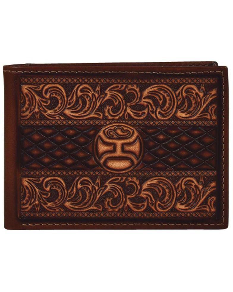 HOOey Men's Signature Bifold Wallet, Brown, hi-res