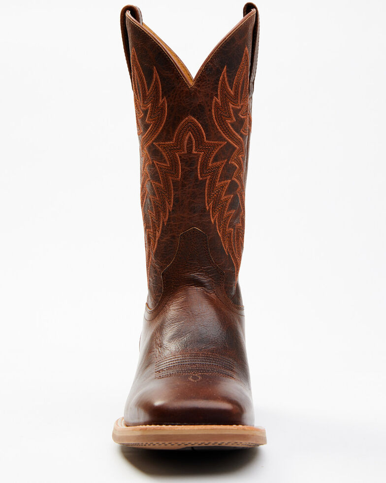 Cody James Men's Xtreme Brown Heritage Western Boots - Wide Square Toe, Brown, hi-res