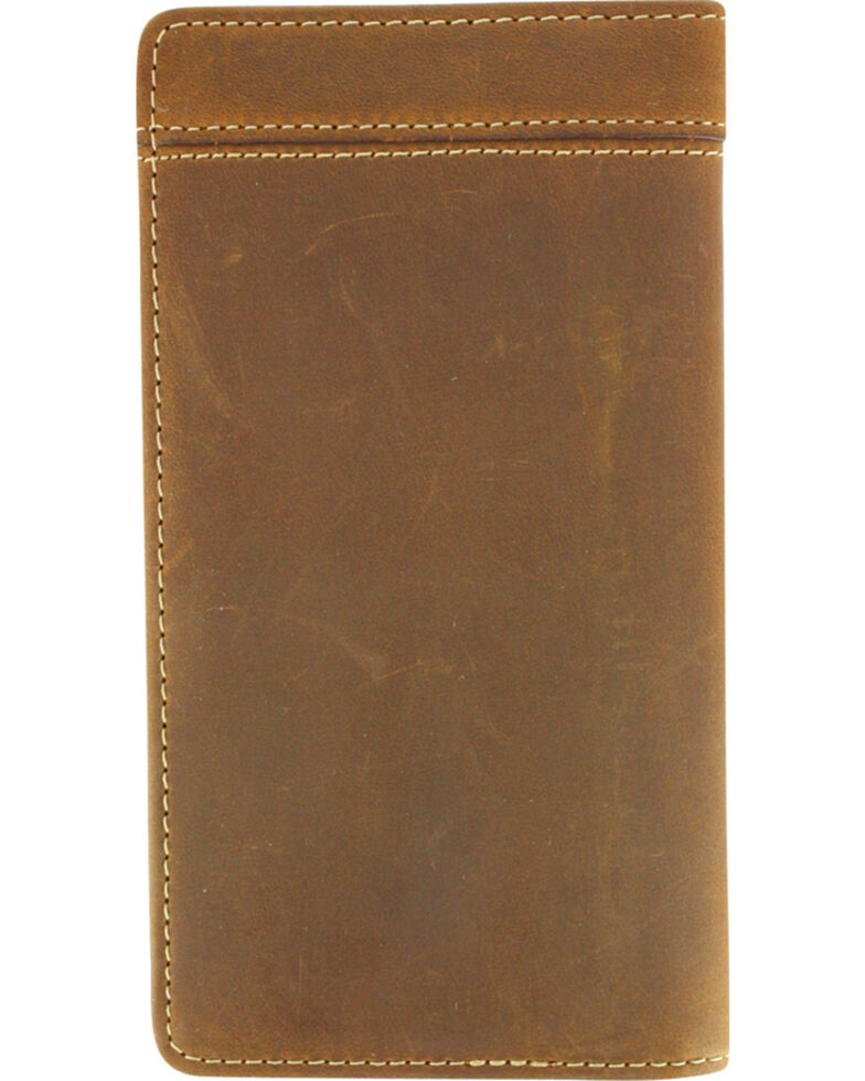 Cody James® Men's Wallet and Checkbook Cover, Brown, hi-res