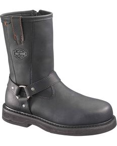 31000e408ada Harley-Davidson Men s Bill Steel Toe Motorcycle Boots