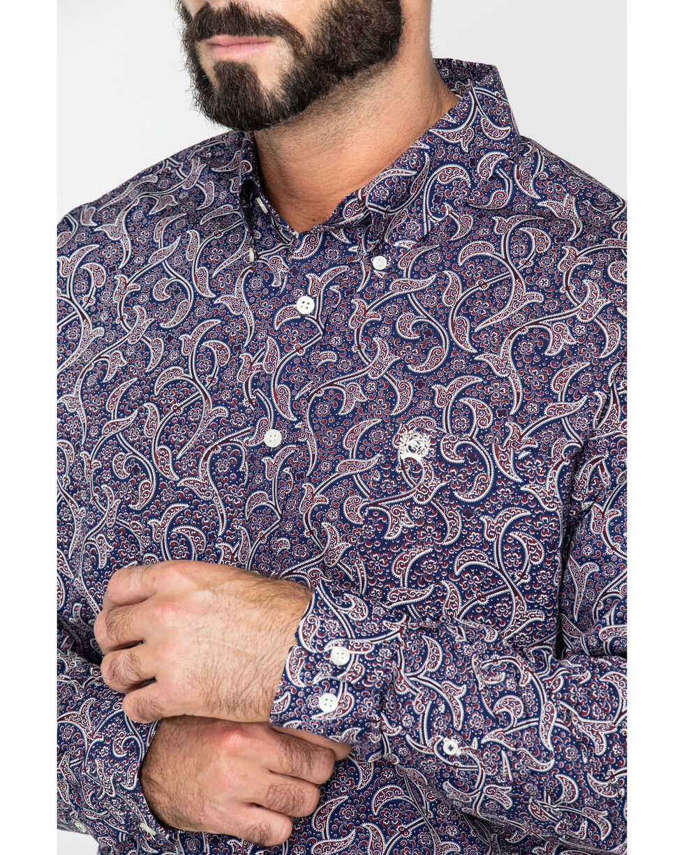 SM Paisley Button Down Shirt