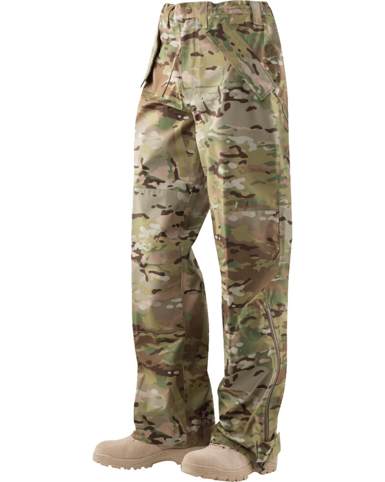 Tru-Spec H2O Proof ECWCS Camo Trousers, Camouflage, hi-res