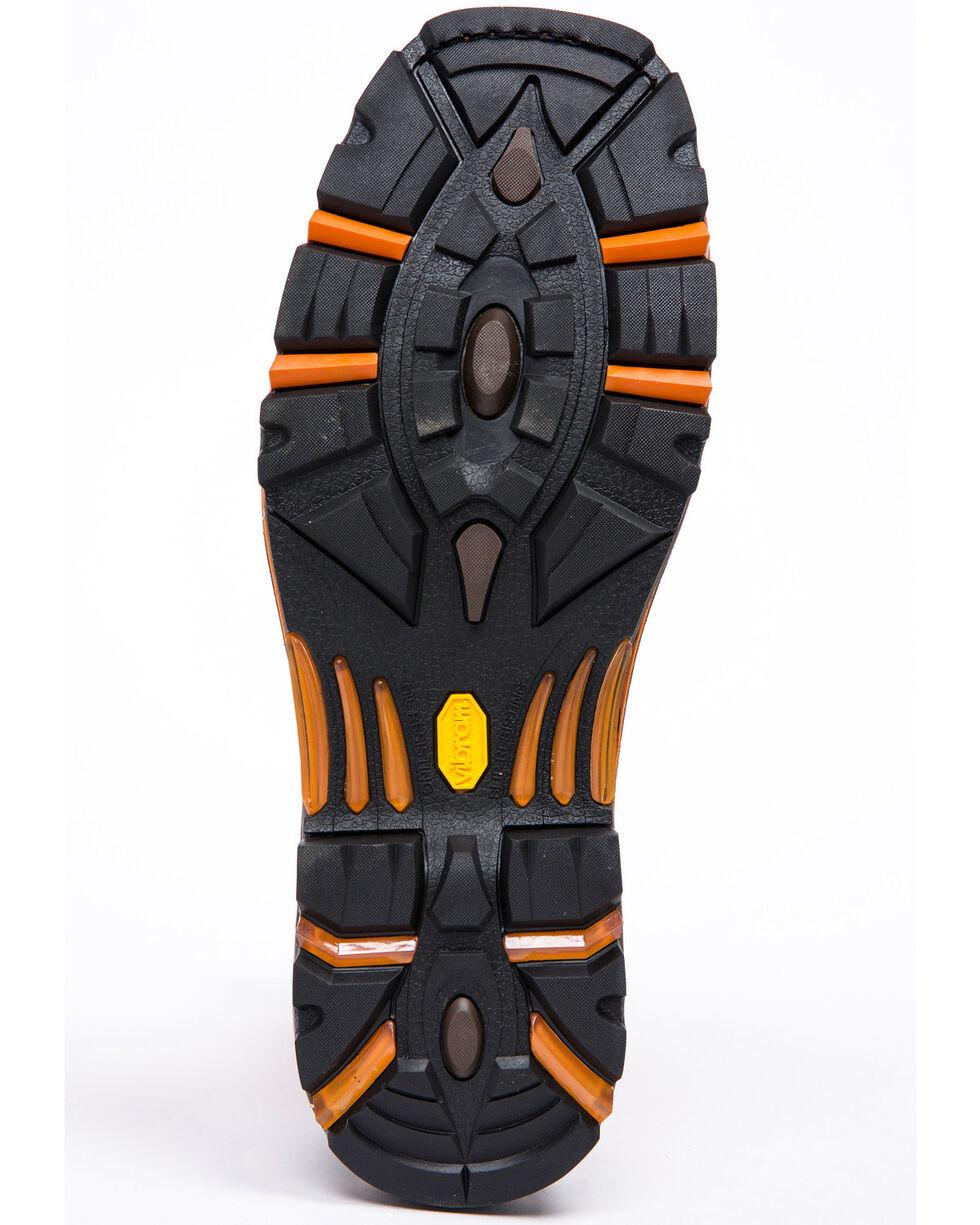 Cody James Men's Orange Top Western Work Boots - Composite Toe, Brown, hi-res