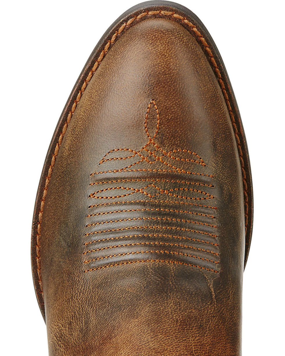Ariat Women's Round Up Western Boots, Toffee, hi-res