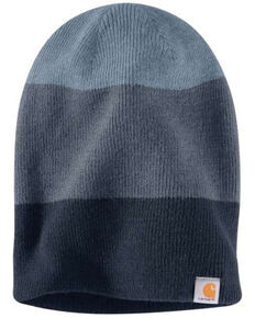 Carhartt Men's Navy Convertible Beanie, Navy, hi-res